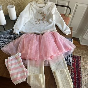 Girls Holiday Outfit w/boots